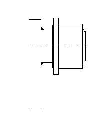 Удлиненная ось ролика